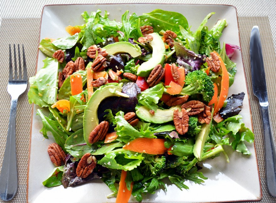 Spring Salad With Garlic Miso Dressing Healthy Life Redesign