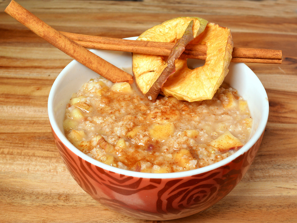 Apple Cinnamon Quick-Oats