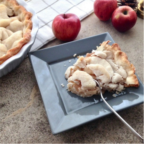 Apple Pie with Homemade Gluten-free Crust