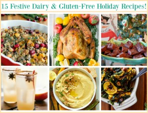 Festive holiday recipes allergen free