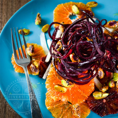 Mexican Christmas Salad - Citrus and beets