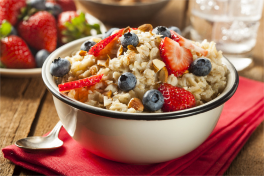 Healthy Homemade Oatmeal