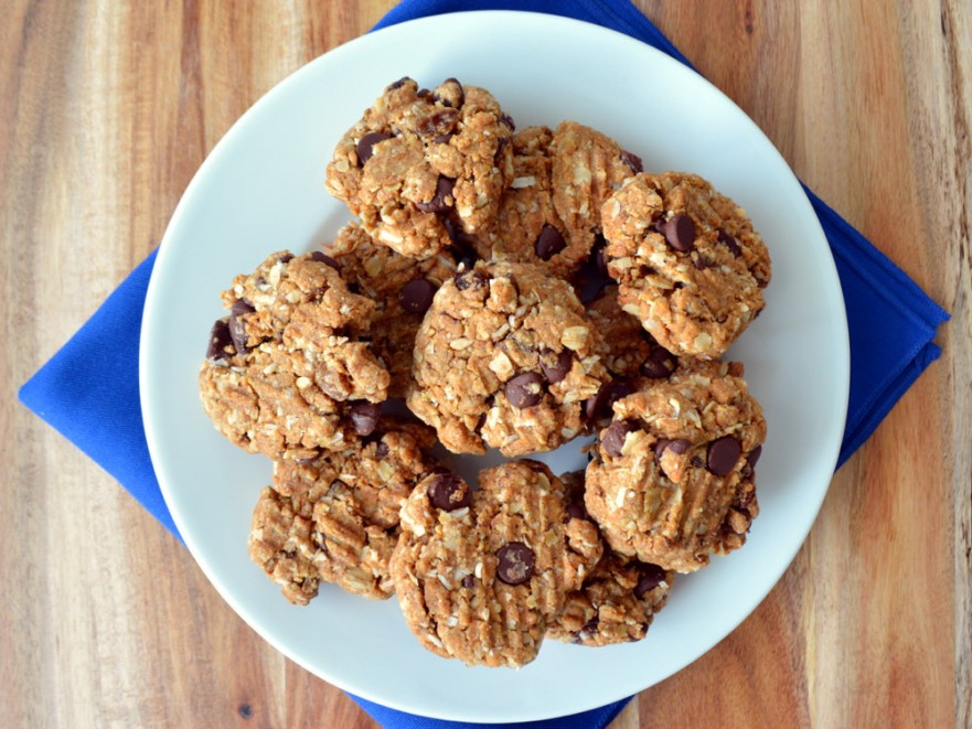 Road trip cookies healthy snack gluten free vegan