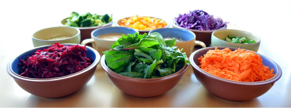 Healthy Buddha Bowl with Savoury Miso Sauce