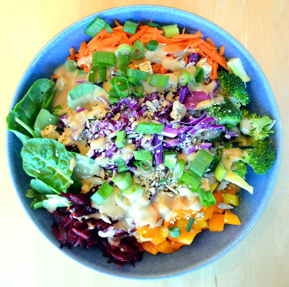 Buddha Bowl with Savoury Miso Sauce