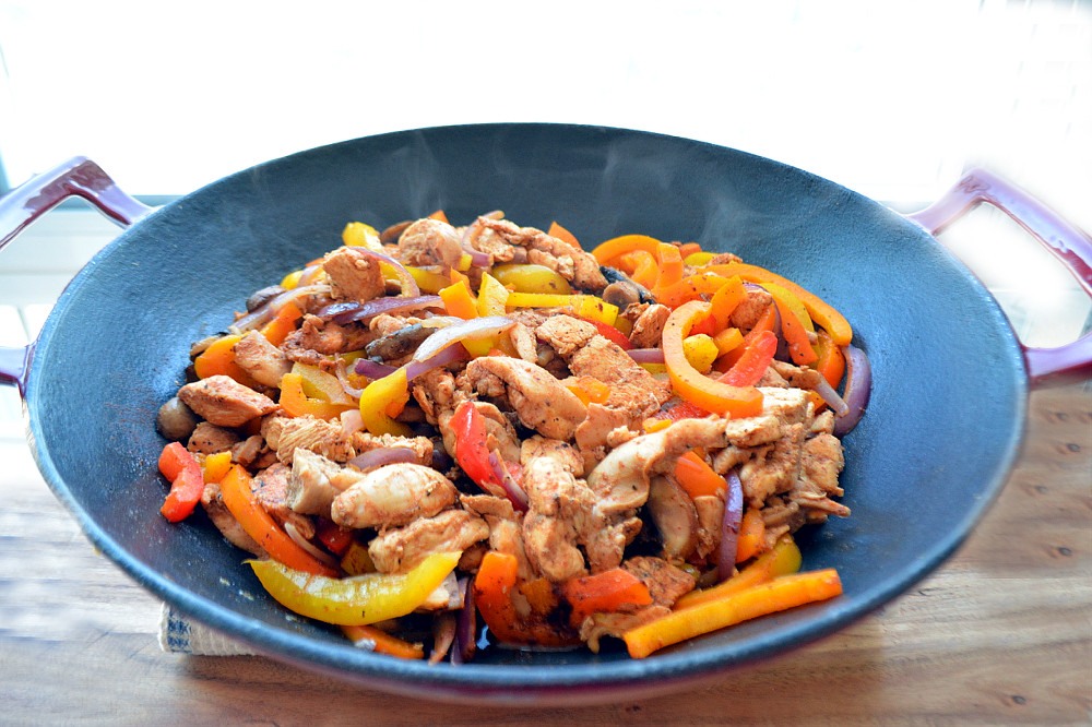 How to make Chicken Fajitas