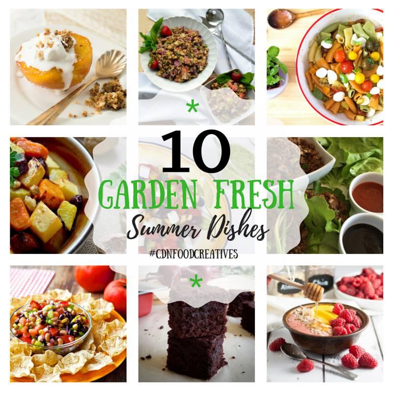 10 Garden-fresh summer dishes