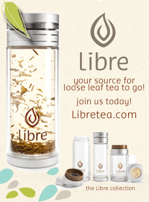 Libre Tea Glass - Healthy Holiday Gift Idea!