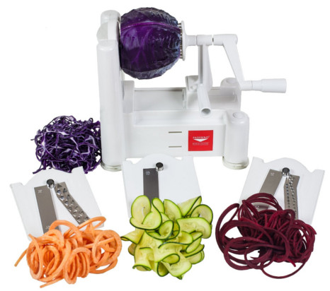Give a spiralizer as a healthy holiday gift!