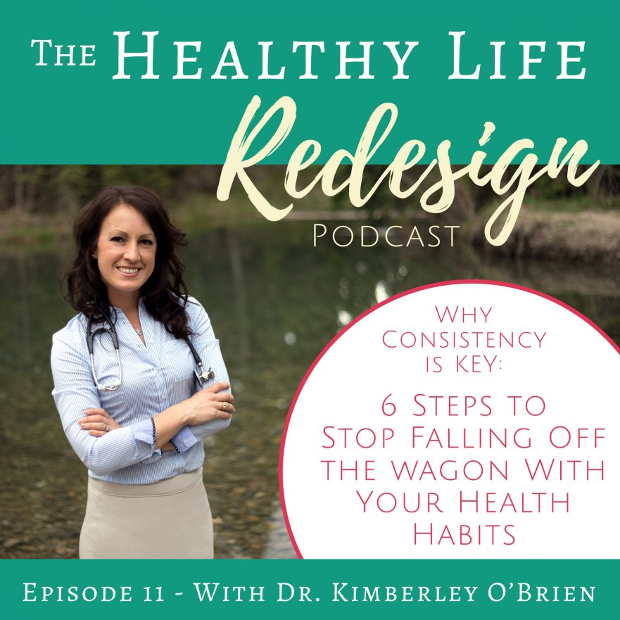 Consistency in building health habits