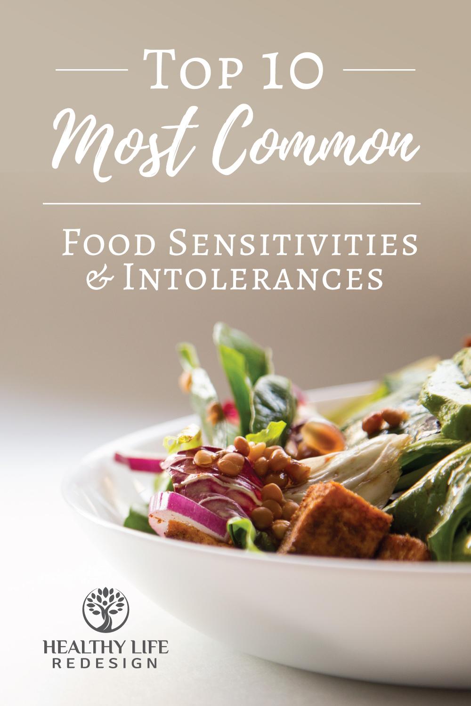 Top 10 Most Common Food Sensitivities and Intolerances
