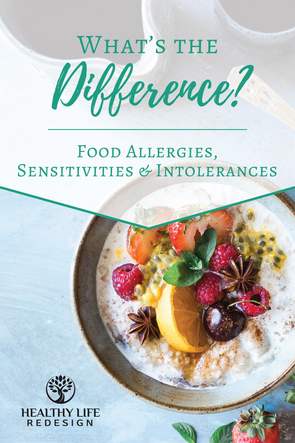 Food Allergies, Sensitivities and Intolerances… What's the Difference?