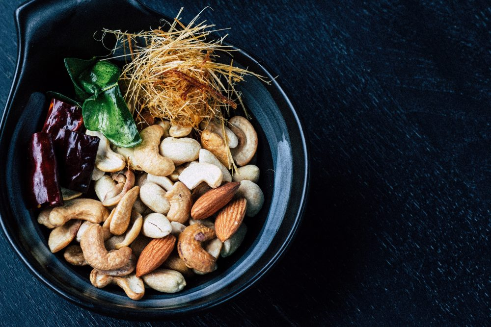 Almonds and cashews are a common food sensitivity!