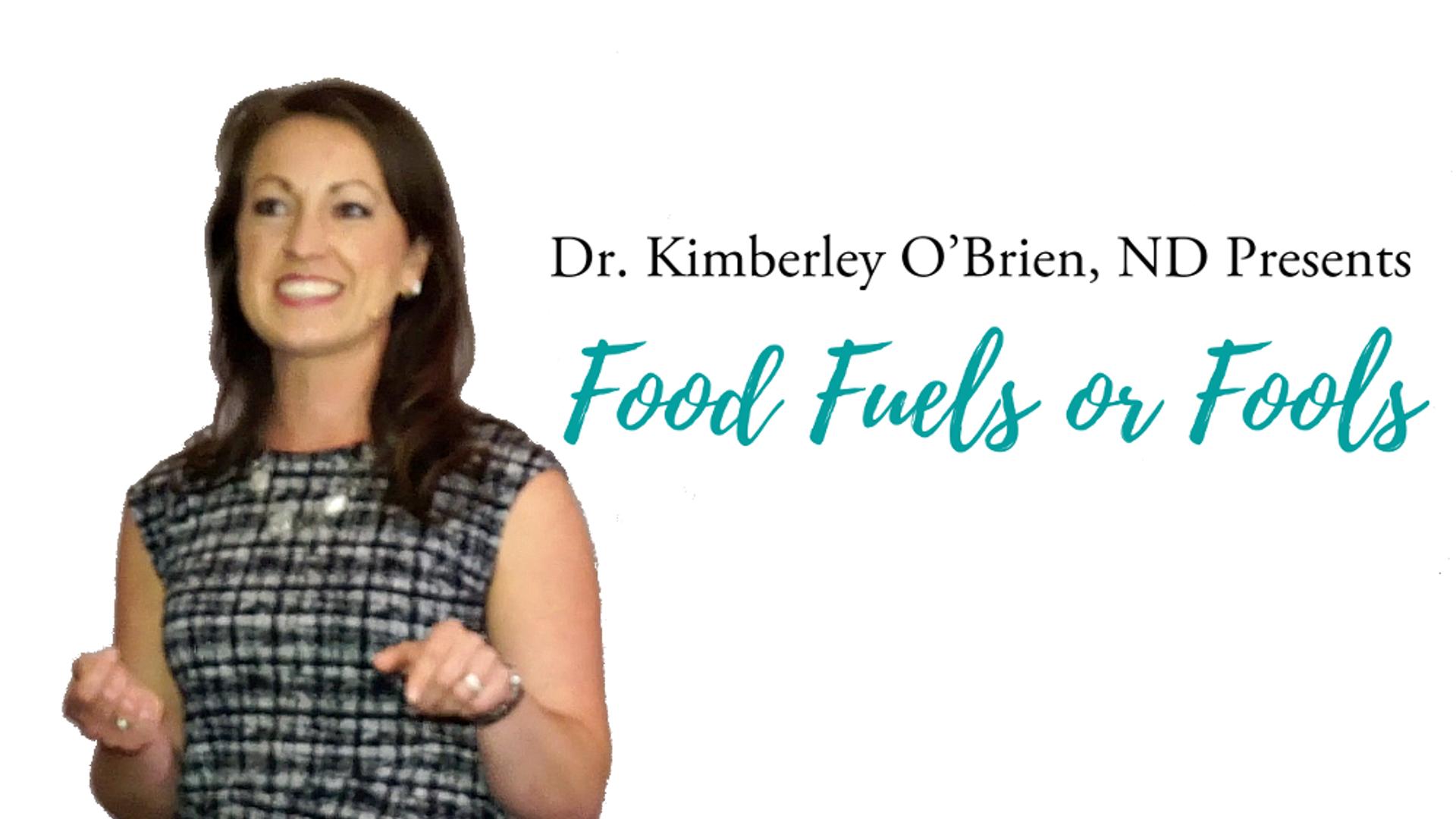 Food Fuels or Fools