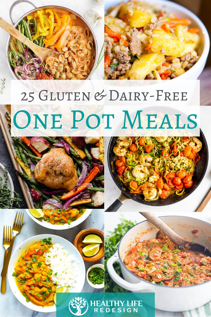 25 Healthy One Pot Meals - All Gluten and Dairy-Free!