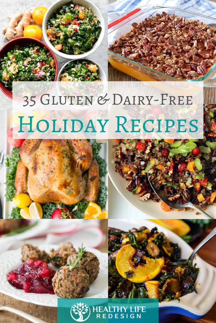 35 Festive Gluten and Dairy-Free Holiday Recipe Ideas