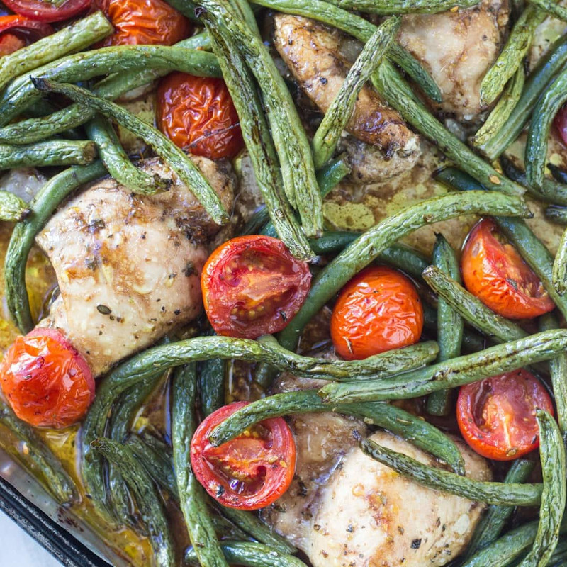 Italian Chicken and Veggies