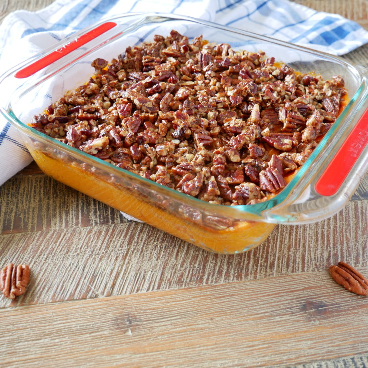 Sweet Potato and Pecan Pie
