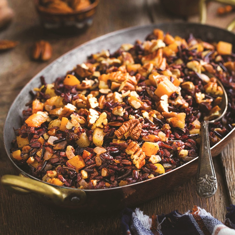 Wild Rice Pilaf - One of 25 Delicious Gluten and Dairy-Free Healthy Potluck Dishes!