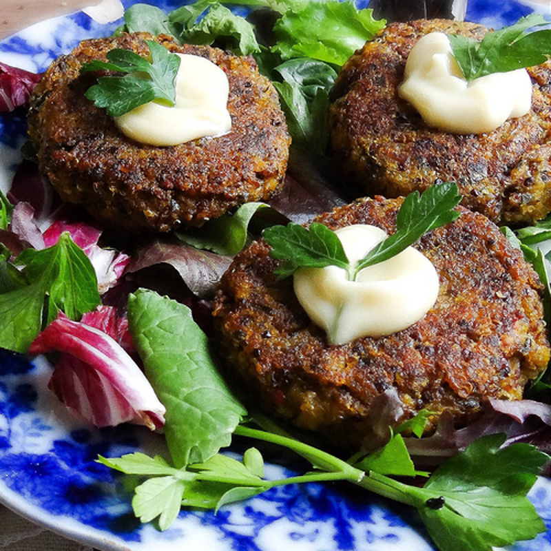 Winter Squash and Quinoa Rissoles - One of 25 Delicious Gluten and Dairy-Free Healthy Potluck Dishes!