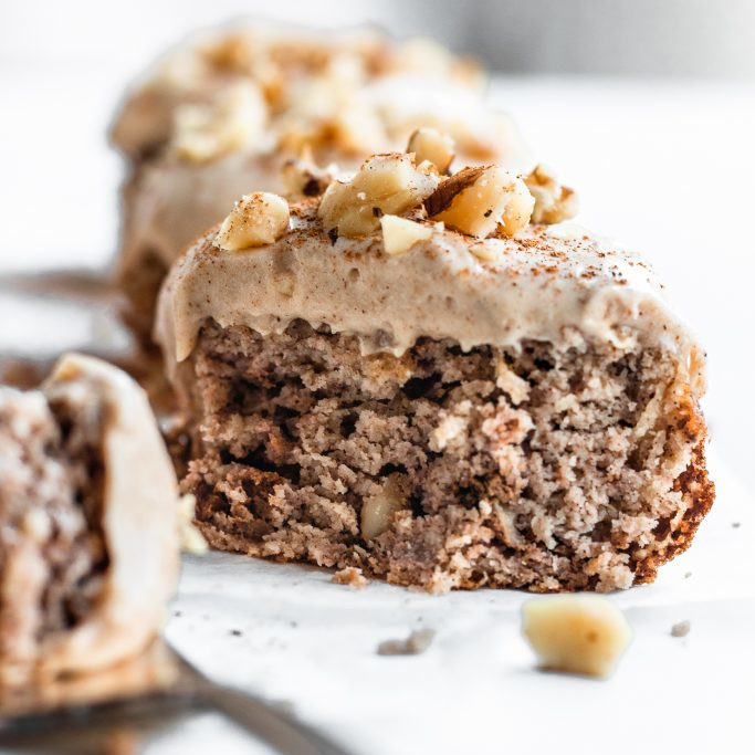 Dairy-Free Holiday Desserts: Apple Cake with Caramel Frosting