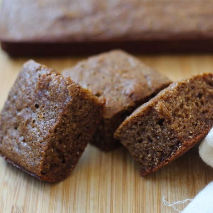 Dairy-Free Holiday Desserts: Gingerbread Squares