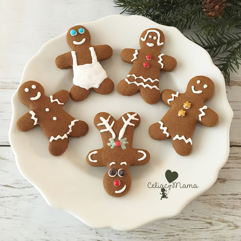 Dairy-Free Holiday Desserts: Gingerbread Men Cookies