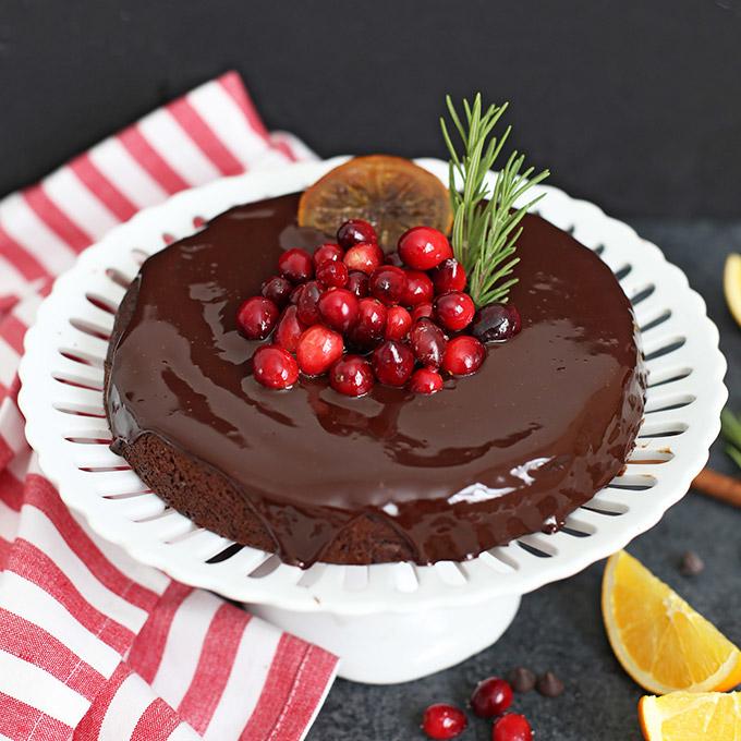 Dairy-Free Holiday Desserts: Chocolate Orange Cake
