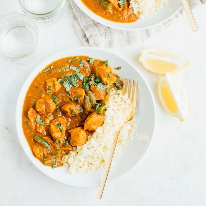 Healthy Slow Cooker Recipes: Slow Cooker Dairy Free Butter Chicken