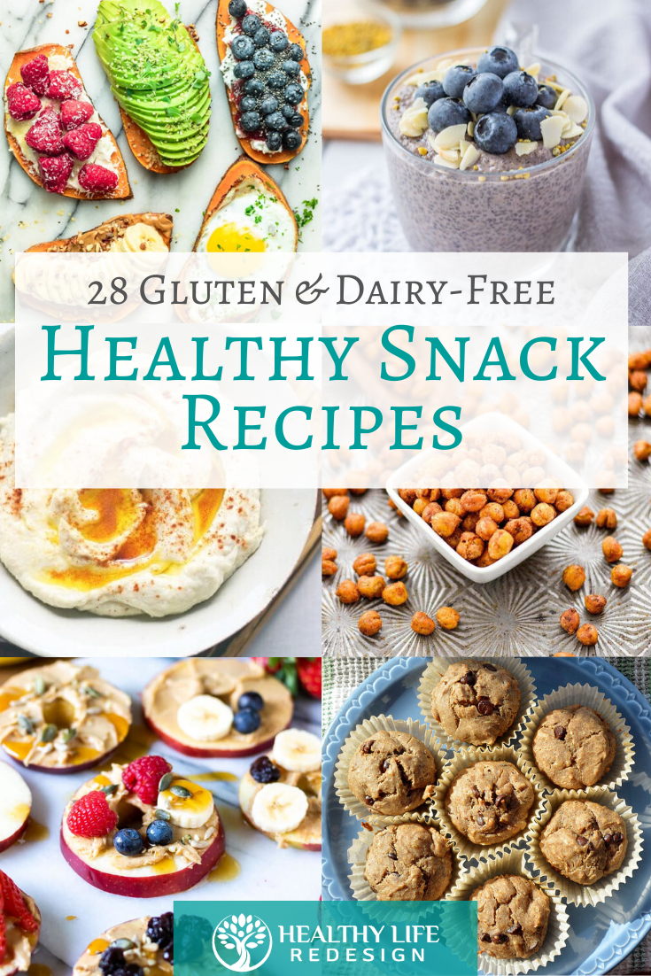 Gluten and Dairy-Free Healthy Snack Recipes