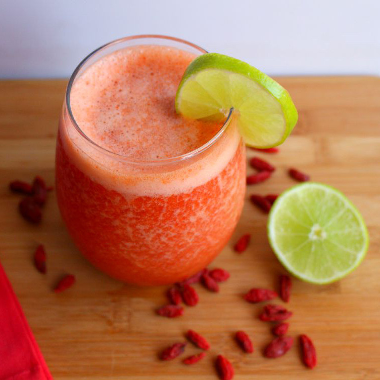 Lime Goji Berry Smoothie