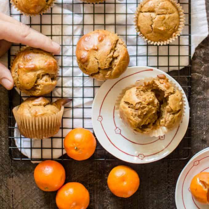 Healthy Snack Recipes: Sweet Potato Peanut Butter Muffins